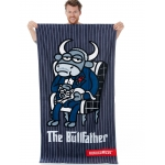Πετσέτα Bullfather 90X170 100%Cotton